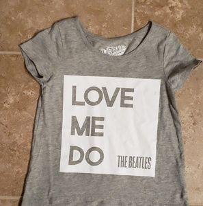 "Old Navy Girls Short Sleeve ""The Beatles"" T Shirt"